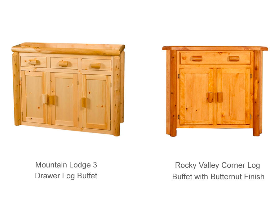 Mountain Lodge and Rocky Valley Buffet (& Corner)