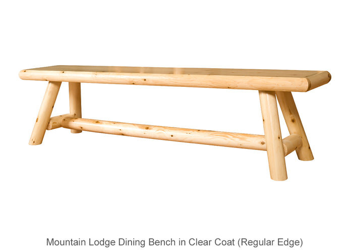 Mountain Lodge Dining Bench