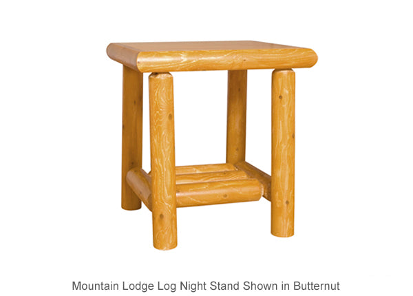 Mountain Lodge Open Night Stand