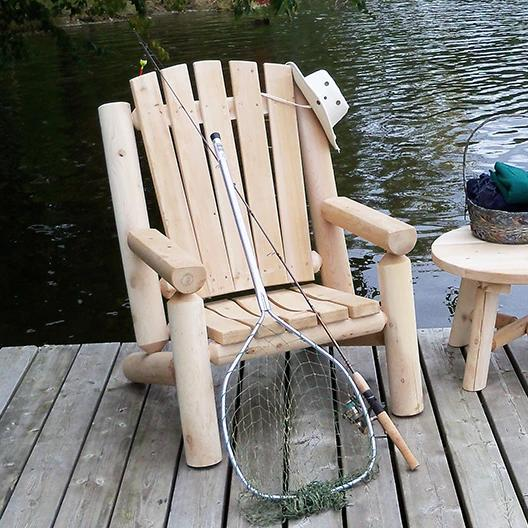 Muskoka Log Chair