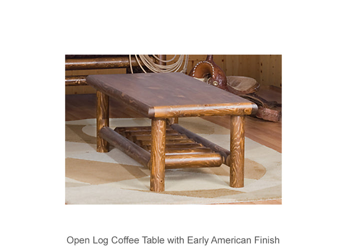 Open Log Coffee Table