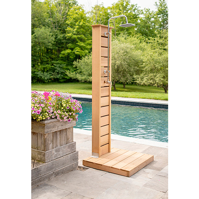 Outdoor Sunlight Cedar Shower