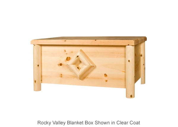 Rocky Valley Blanket Box