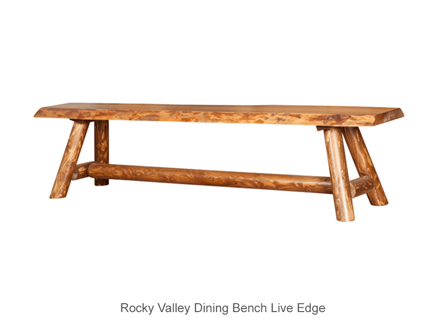 Rocky Valley Dining Bench