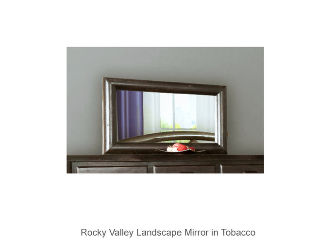 Rocky Valley Landscape Mirror