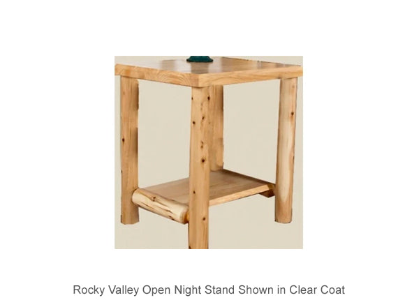 Rocky Valley Open Night Stand