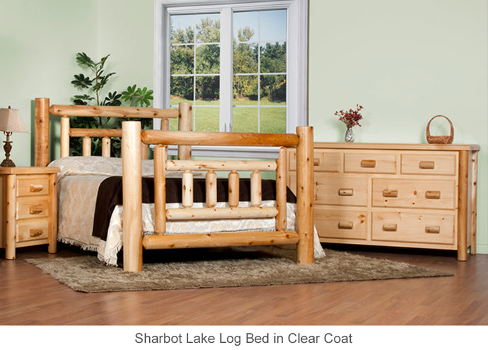 Sharbot Lake Log Bed Collection in all sizes