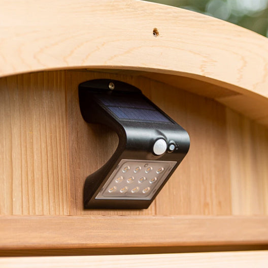 Outdoor Solar Light for Sauna