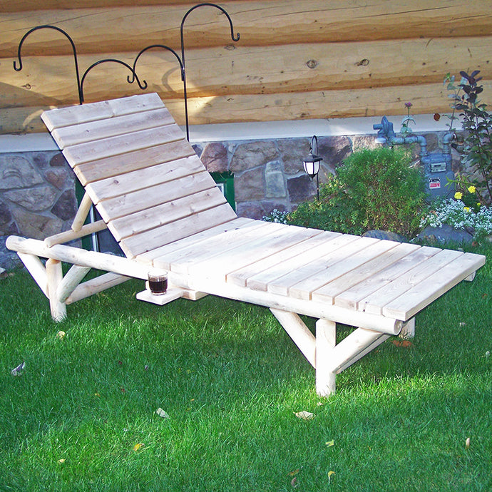 Standard Log Chaise Lounge