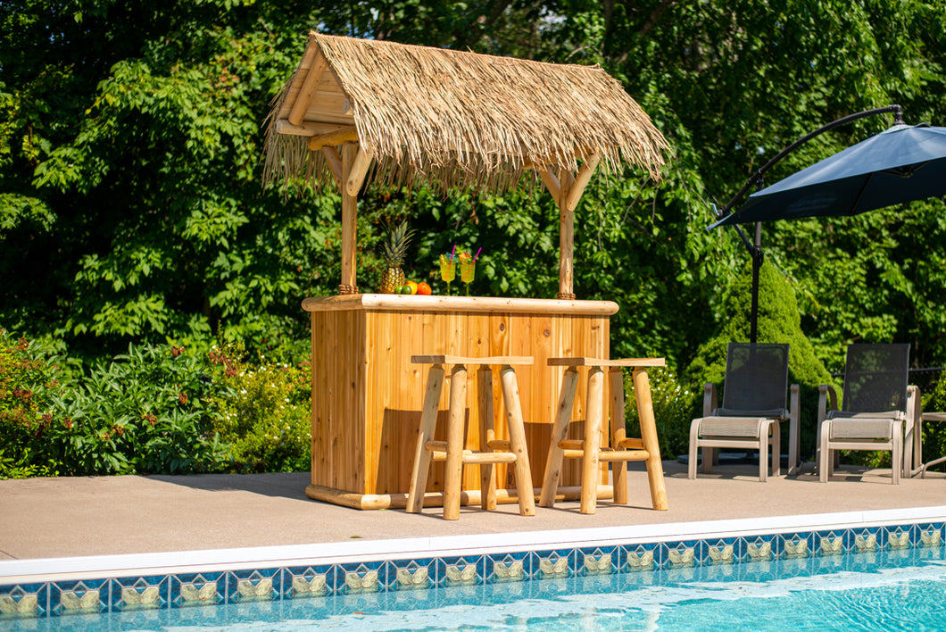 Southern Fantasy Tiki Bar poolside tropical bar
