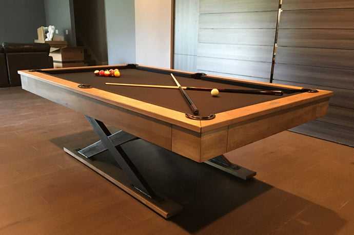 X Table Pool Table