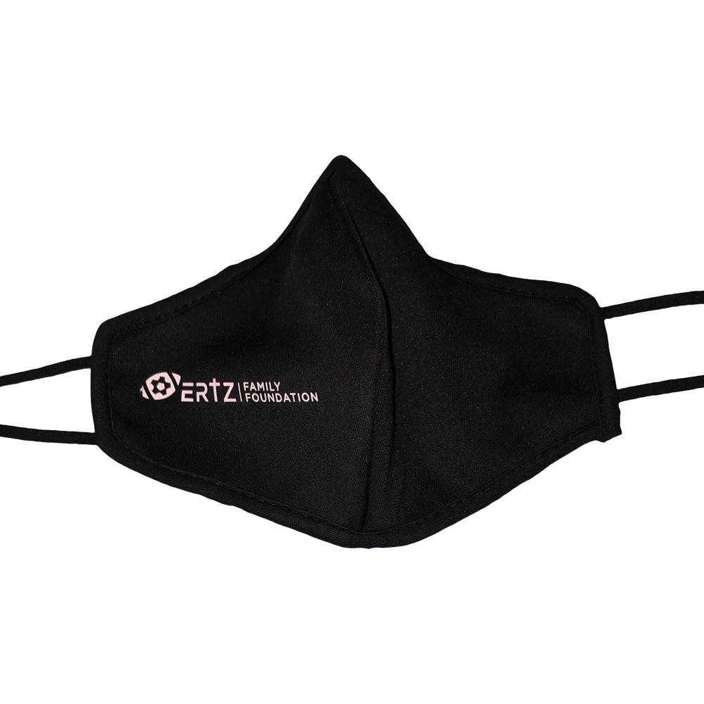 Ertz Family Foundation Black Adjustable Face Mask