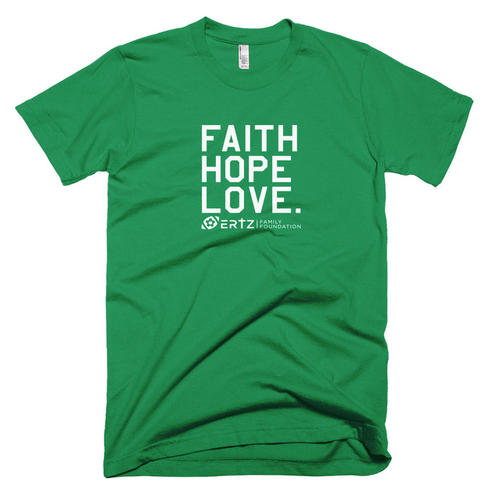 "Faith, Hope, Love ""Team Ertz 86"" Unisex T-Shirt (Heather Green)"