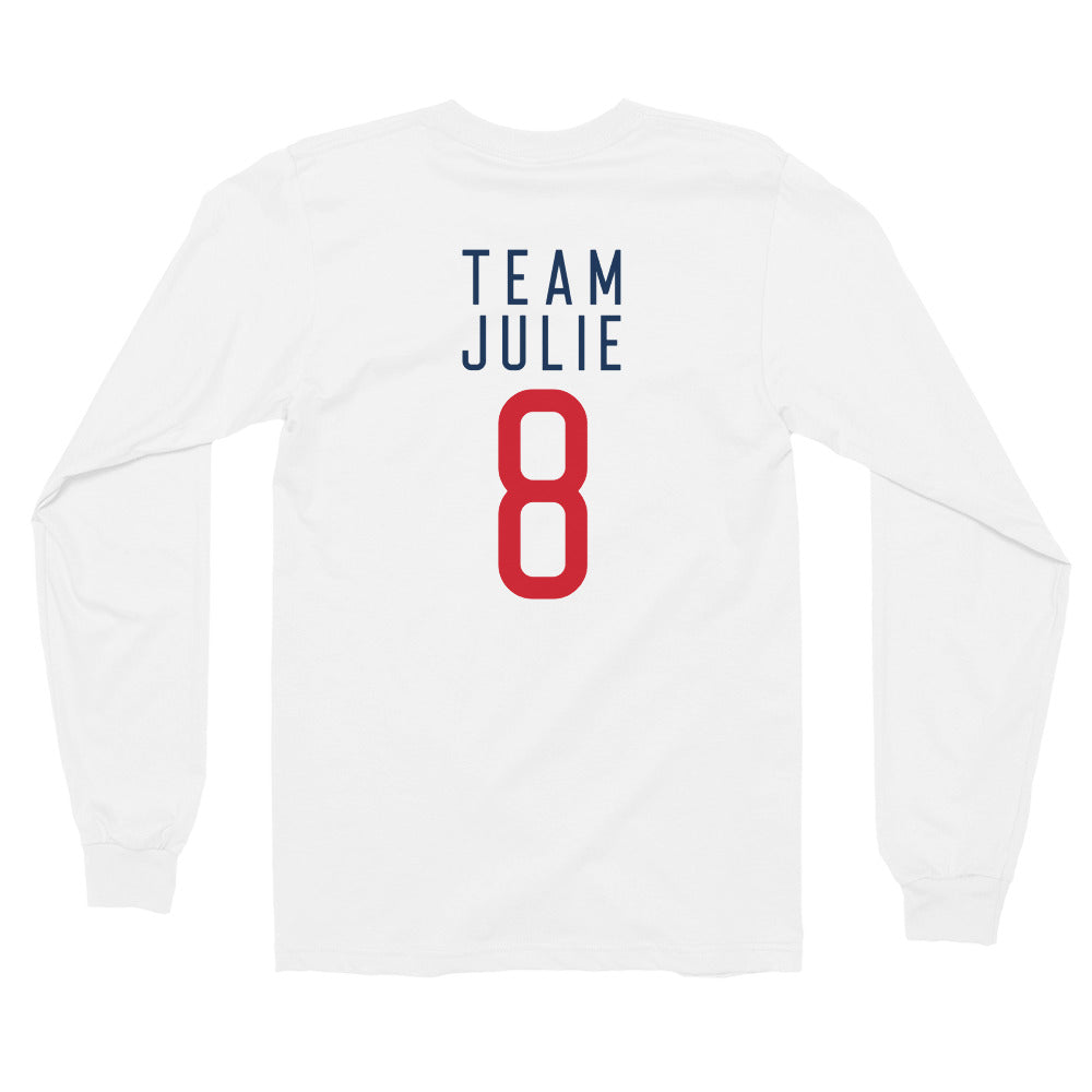 Team Julie Unisex Long sleeve t-shirt