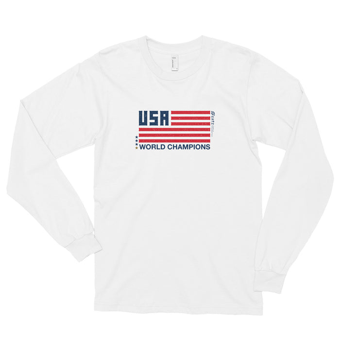World Champion Flag Unisex Long sleeve t-shirt