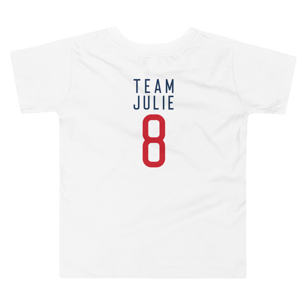 Team Julie Toddler Short Sleeve Tee
