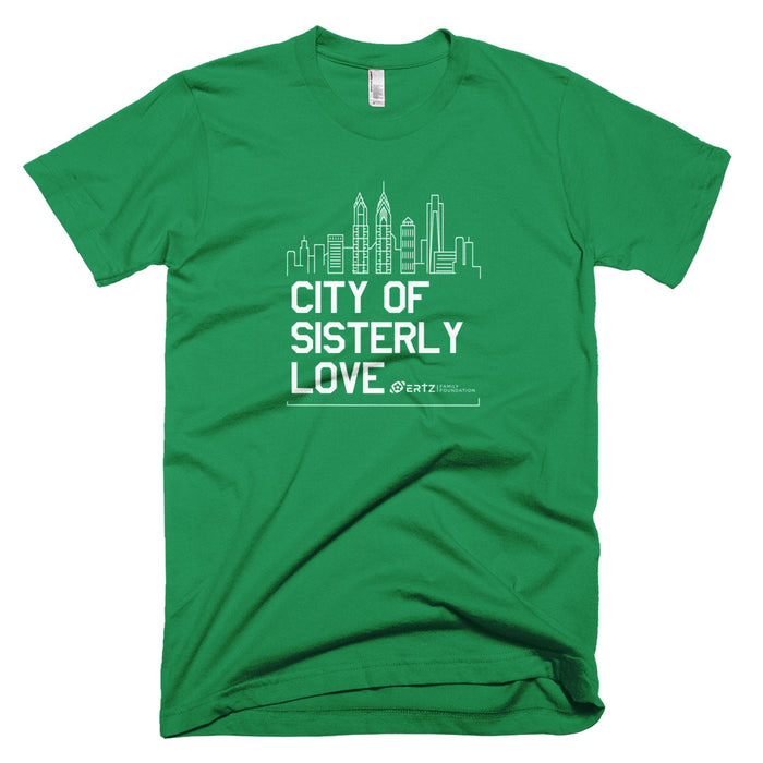 City of Sisterly Love Unisex Team Julie T-Shirt (Green)