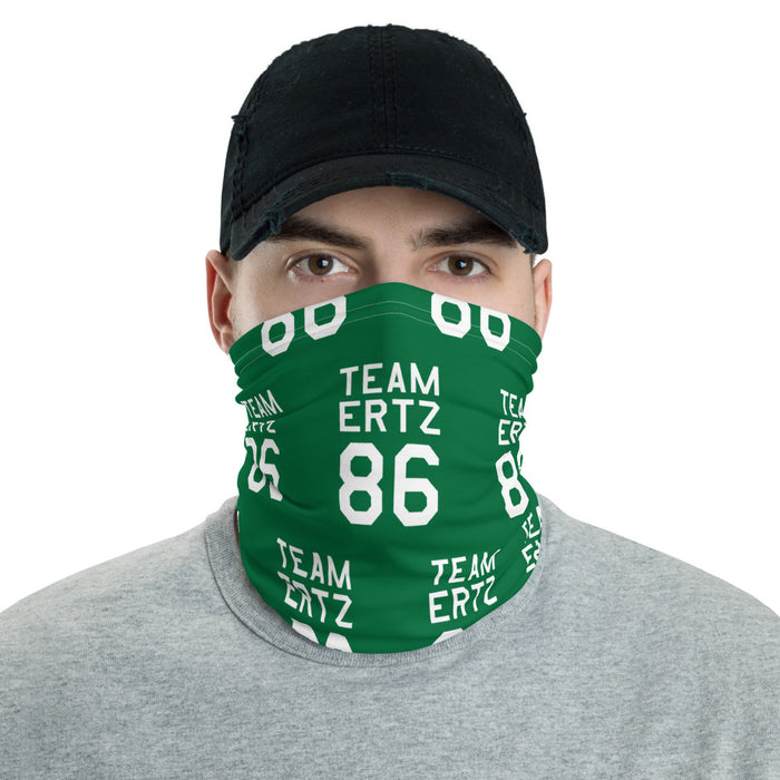 Team Ertz 86 Face Covering (Green)