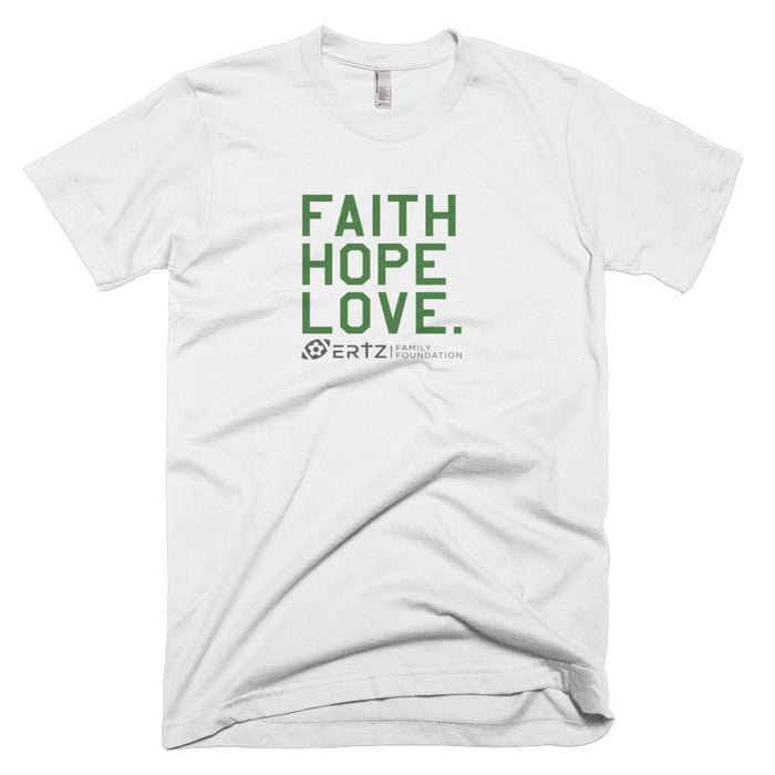 "Faith, Hope, Love ""Team Ertz 86"" Unisex T-Shirt (White)"