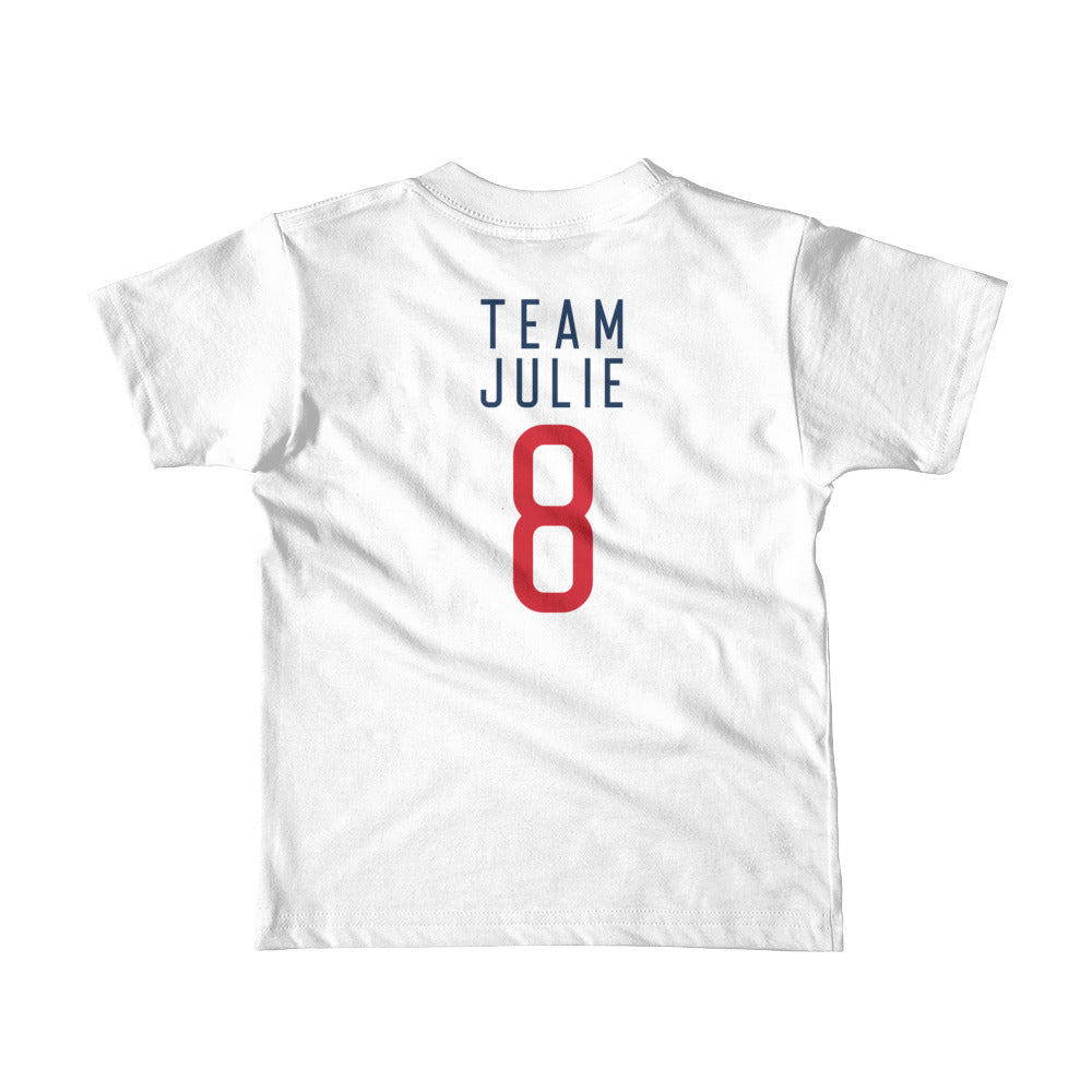 Team Julie Short sleeve kids t-shirt