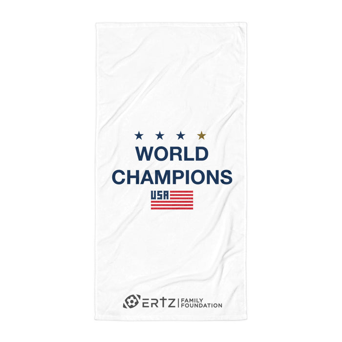 World Champions Beach Towel