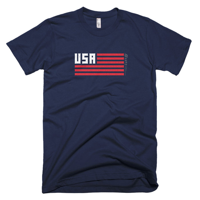 Team Julie USA T-Shirt (Blue)