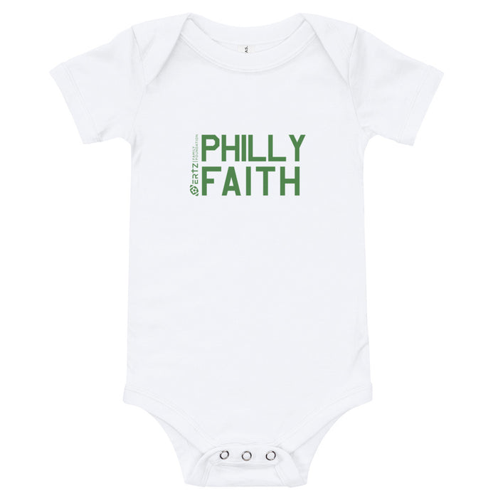 Philly Faith Baby Onesie