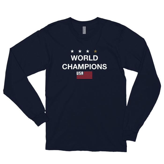 World Champions Navy Unisex Long sleeve t-shirt