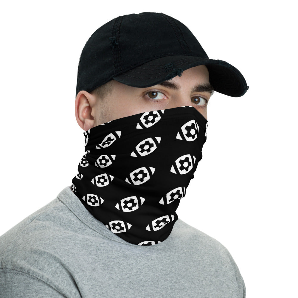 Black Ertz Soccer/Football Face Covering