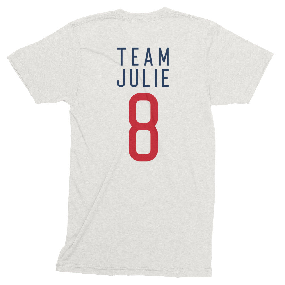 Team Julie Unisex USA T-Shirt