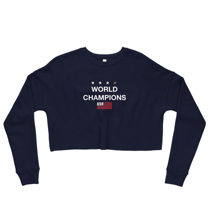 World Champions Crop Sweatshirt