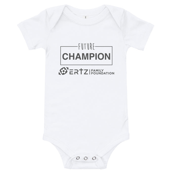 Future Champion Baby Jersey Short Sleeve Onesie