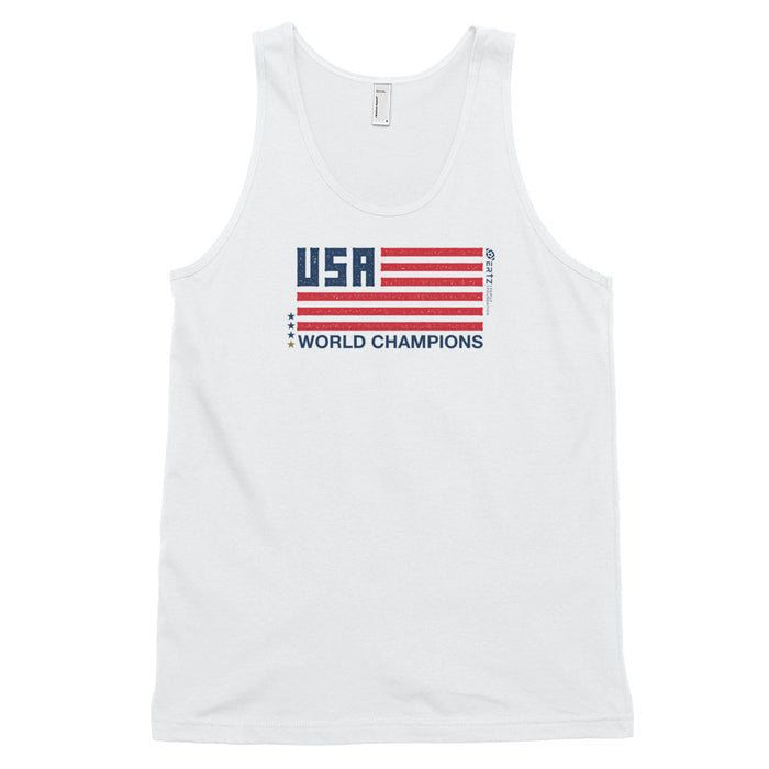 World Champions Flag Classic tank top (unisex)