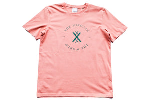 The Jordaan X The World T-shirt - Burnt Coral