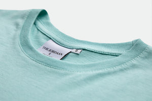 The all time classic T-Shirt with a modern unisex fit. New for spring/summer the original T in soft mint. Made from high quality cotton with the original THE JORDAAN logo, wear it casual with your favorite denim or as a real statement piece with one of your favorite fashion items!