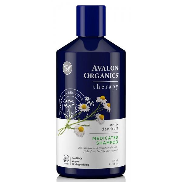 Avalon Organics shampoing antipelliculaire camomille