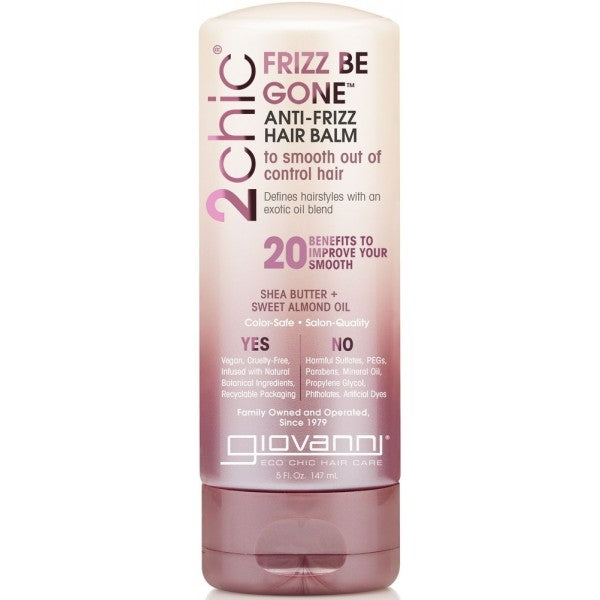 Giovanni Baume capillaire anti-frisottis Frizz Be Gone vegan bio