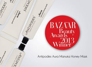 Masque aura antipodes Award bio vegan