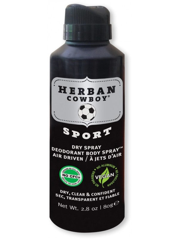 Herban Cowboy Sport Spray vegan