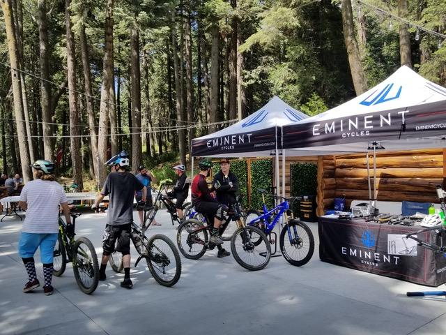 Eminent Cycles Haste demo bikes now at Skypark Bike Park in Southern California