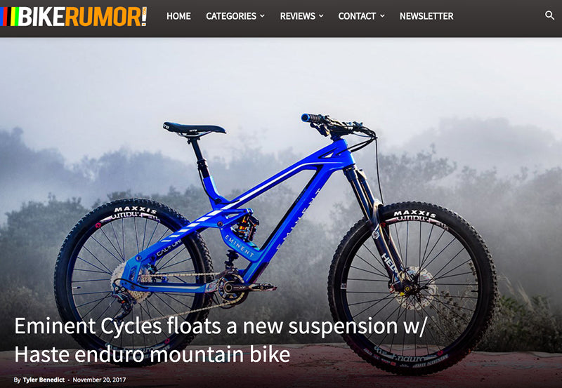 Bike Rumor - Eminent Cycles Launch