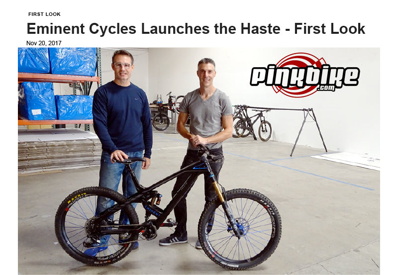 Pinkbike - Eminent Cycles Launch