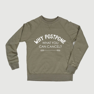 Cancel Crewneck