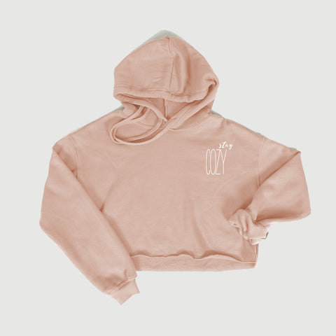 Cozy Cropped Hoodie