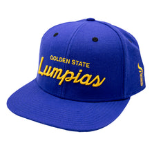 "Load image into Gallery viewer, ""GOLDEN STATE LUMPIA'S"" SNAPBACK HAT (PRE-ORDERS AVAILABLE NOW)"