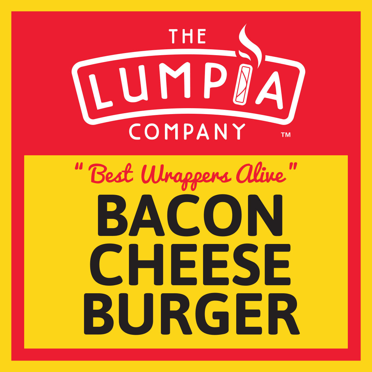 Bacon Cheese Burger Lumpia