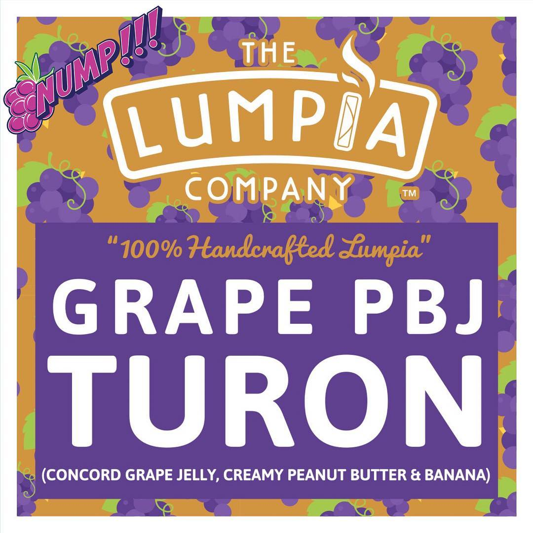 Grape PBJ Turon Lumpia