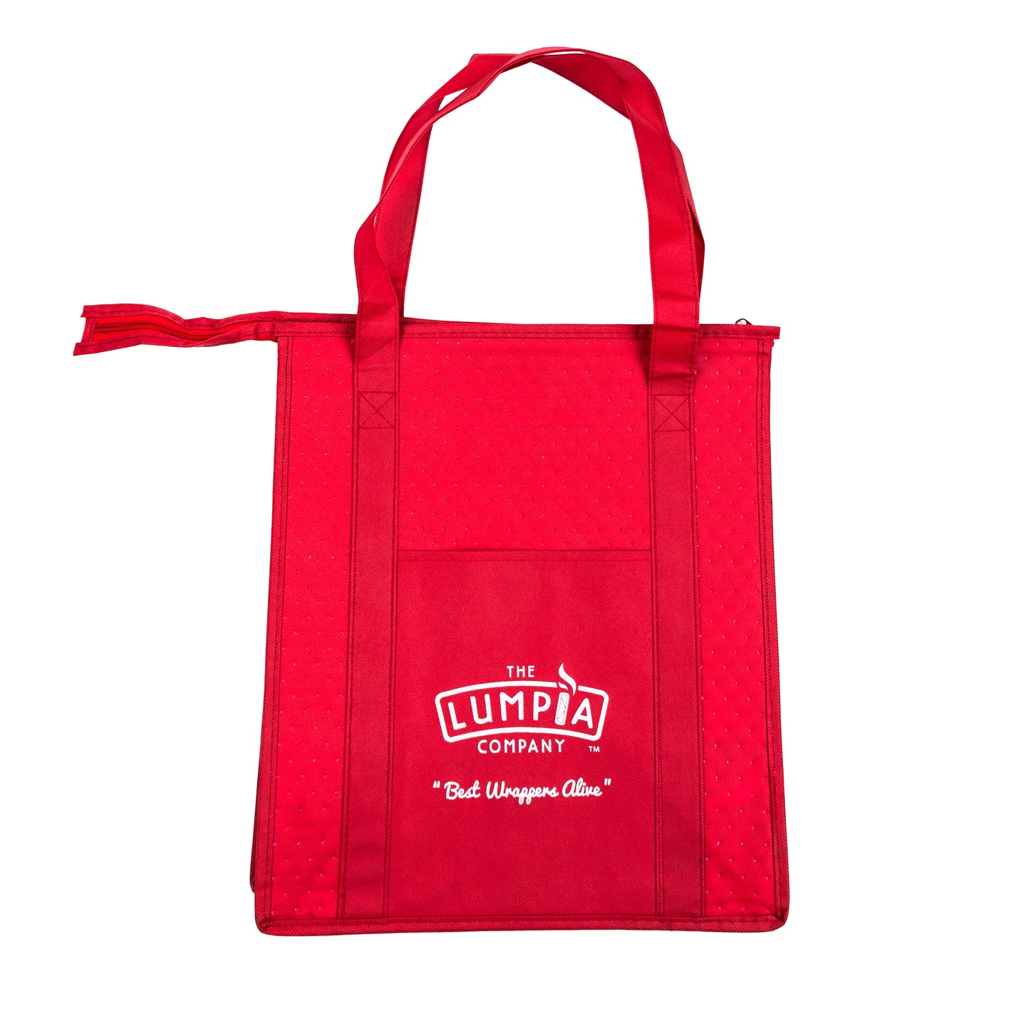 The Lumpia Company Red Insulated Bag