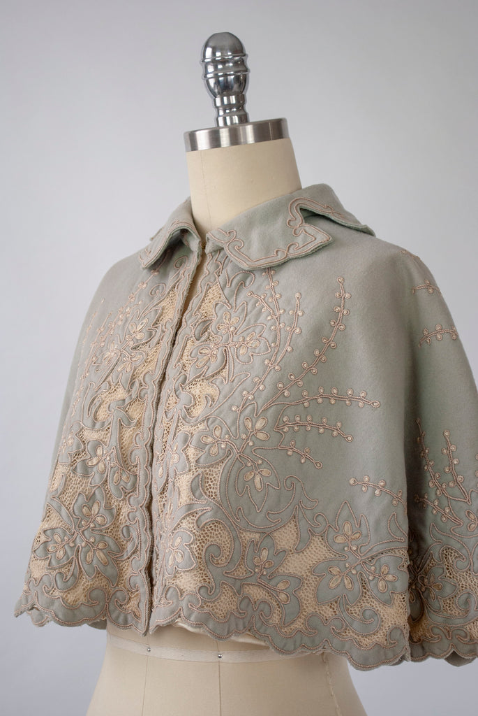 The Decorative function of an Edwardian cape