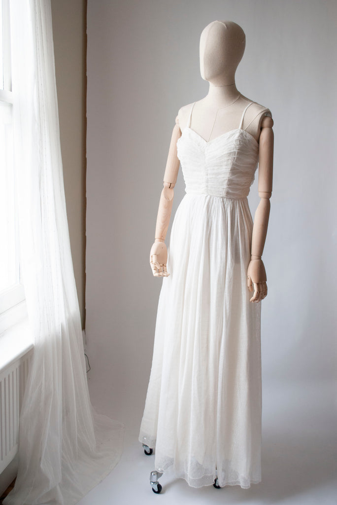 1950's Tulle and Net Dress
